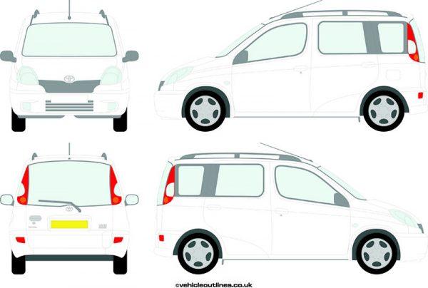 Cars Toyota Yaris 2000-2006