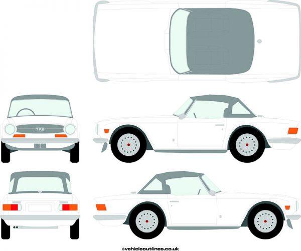 Cars Triumph TR6 1969-76