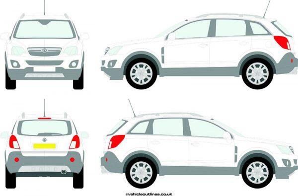 4x4 Vauxhall Antara 2010-15