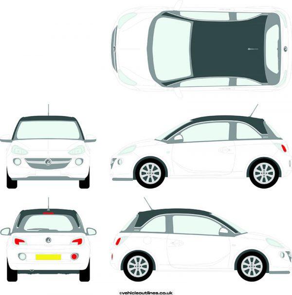 Cars Vauxhall Adam 2013-19