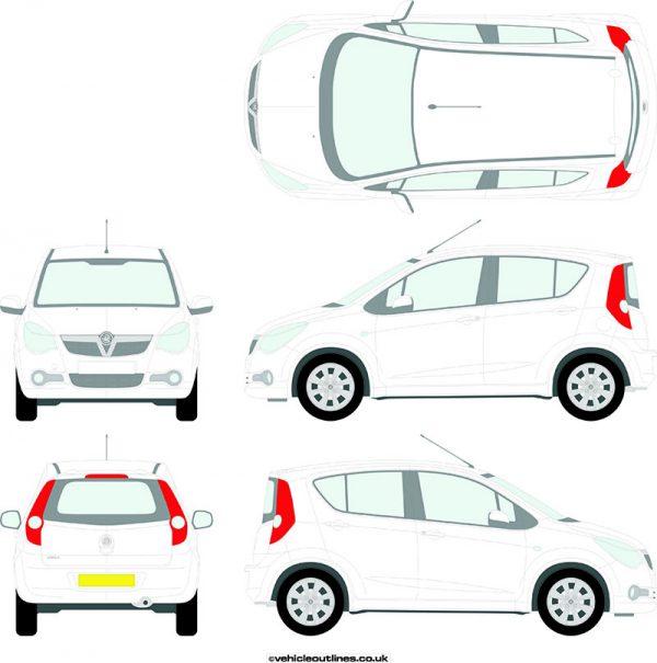Cars Vauxhall Agila 2008-15