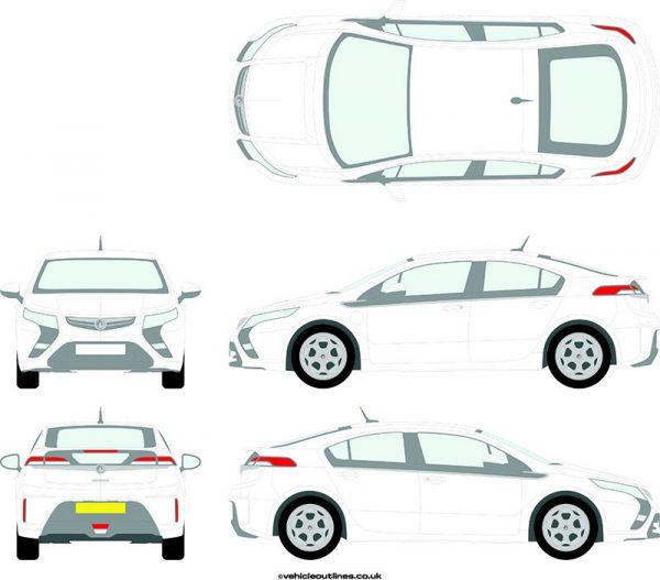 Cars Vauxhall Ampera 2011-16