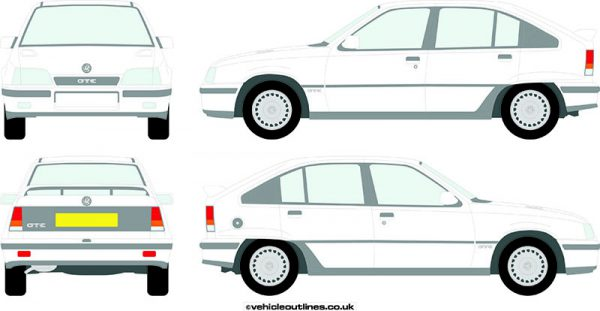 Cars Vauxhall Astra 1985-90