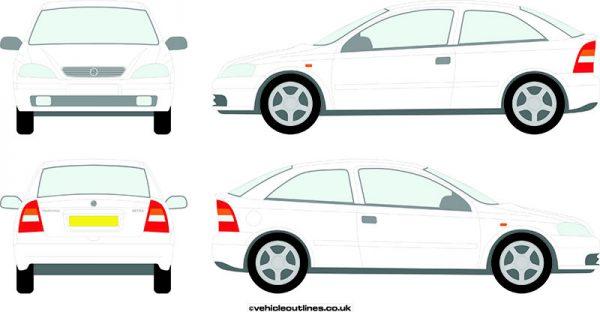 Cars Vauxhall Astra 1998-2004