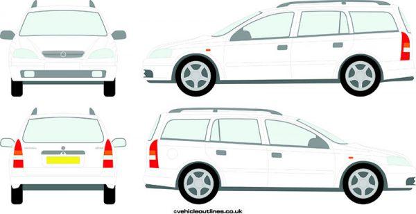 Cars Vauxhall Astra 1998-2003