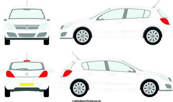 Cars Vauxhall Astra 2004-09