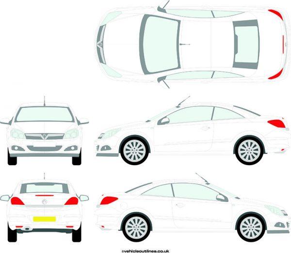 Cars Vauxhall Astra 2006-10