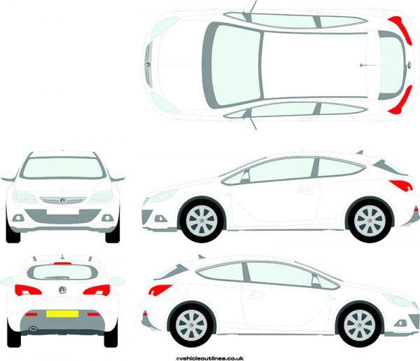 Cars Vauxhall Astra 2011-16