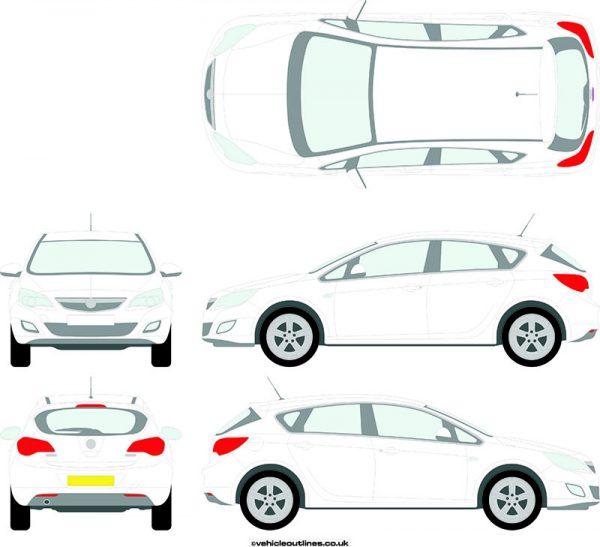 Cars Vauxhall Astra 2010-15