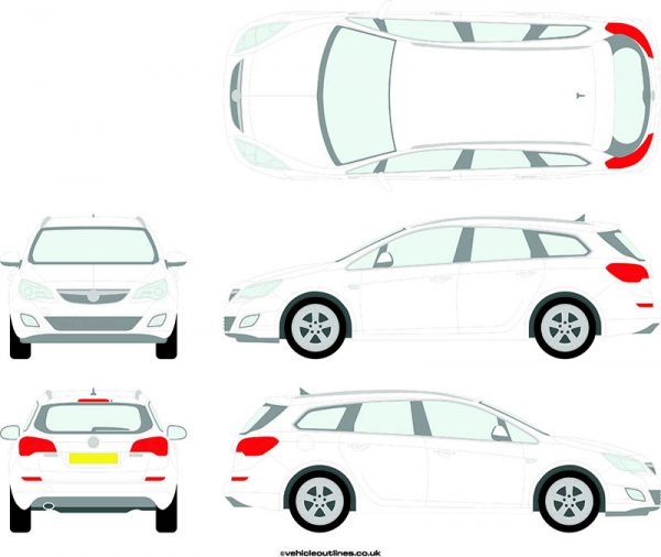 Cars Vauxhall Astra 2010-16