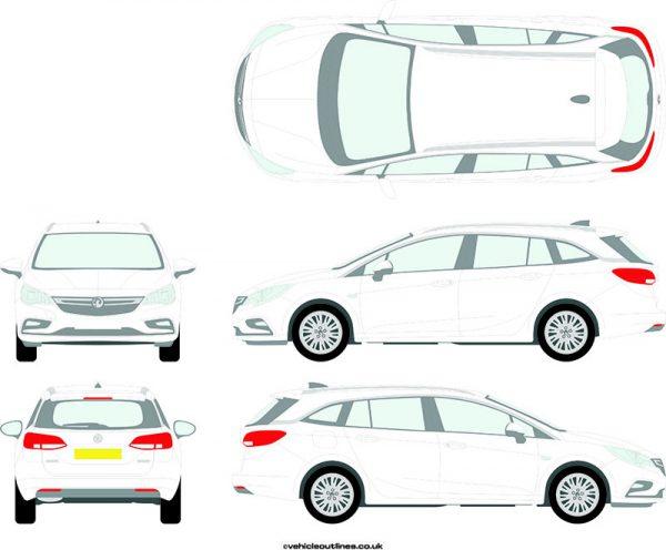 Cars Vauxhall Astra 2016-21