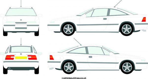 Cars Vauxhall Calibra 1992-98