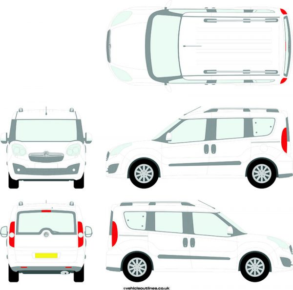 Cars Vauxhall Combo 2012-18