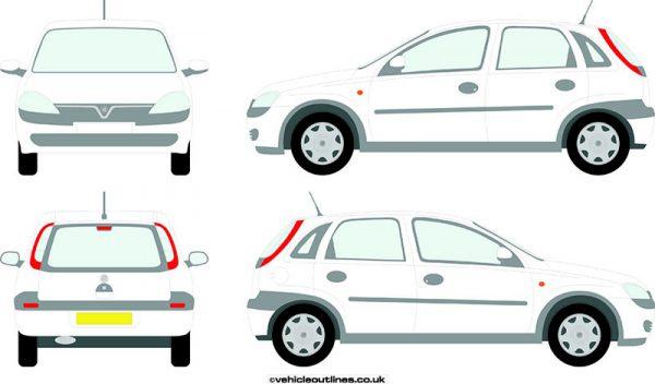 Cars Vauxhall Corsa 2000-06