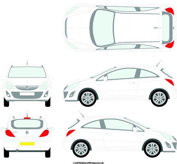 Cars Vauxhall Corsa 2011-14
