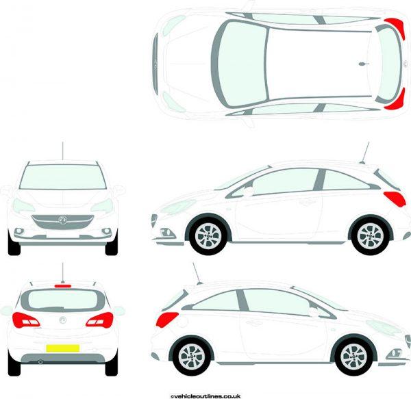 Cars Vauxhall Corsa 2014-20