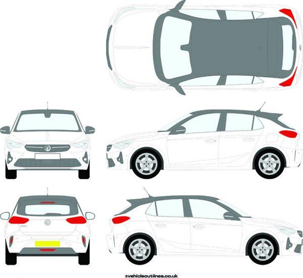Cars Vauxhall Corsa 2020-21