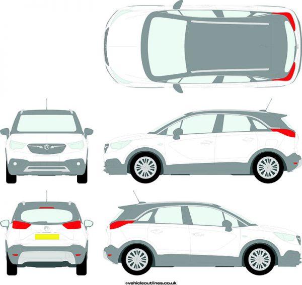 Cars Vauxhall Crossland 2017-21