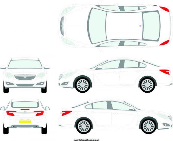 Cars Vauxhall Insignia 2014-17