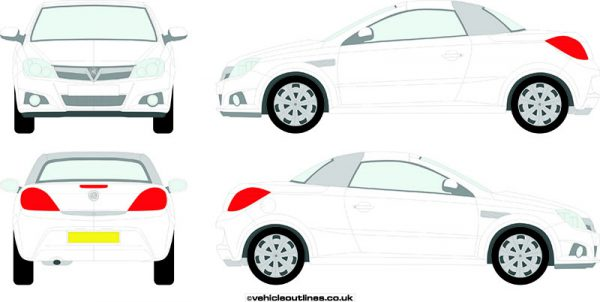 Cars Vauxhall Tigra 2004-09