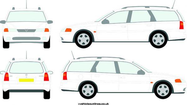 Cars Vauxhall Vectra 1995-2002
