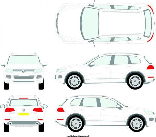 4x4 Volkswagen Toureg 2010-14