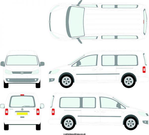 Cars Volkswagen Caddy 2010-15