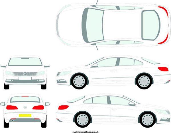 Cars Volkswagen CC 2012-17