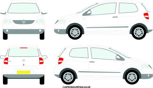 Cars Volkswagen Fox 2006-09