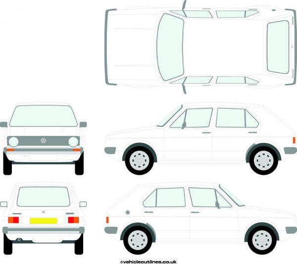 Cars Volkswagen Golf 1974-83