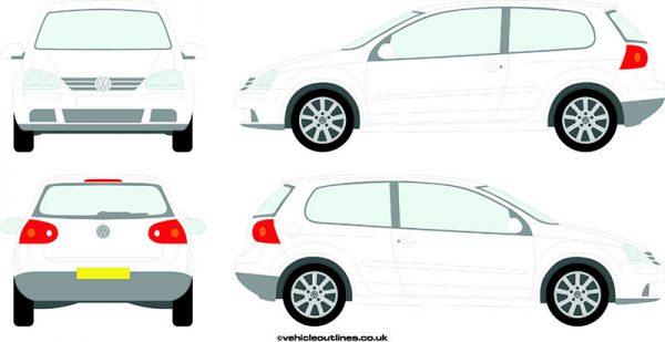 Cars Volkswagen Golf 2004-08