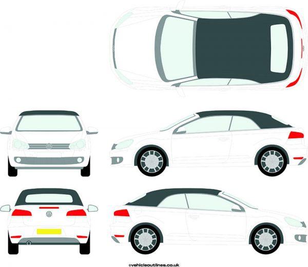 Cars Volkswagen Golf 2011-18