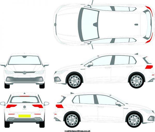 Cars Volkswagen Golk 2020-21