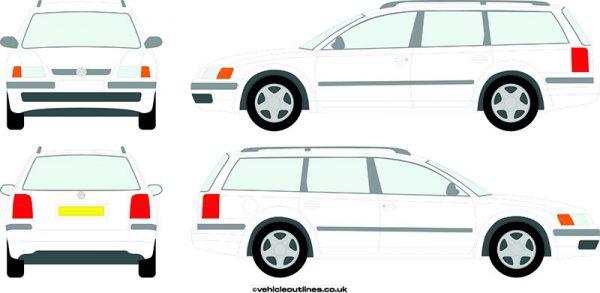 Cars Volkswagen Passat 1997-2001