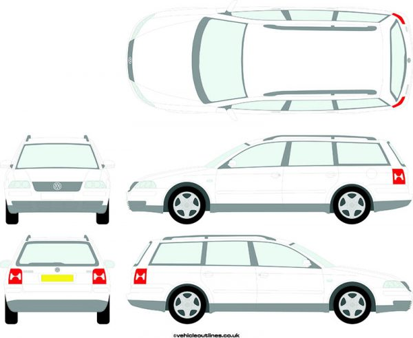 Cars Volkswagen Passat 2001-05