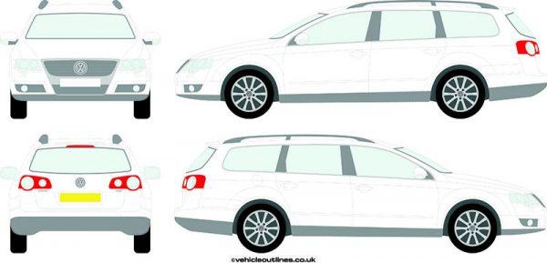 Cars Volkswagen Passat 2006-10