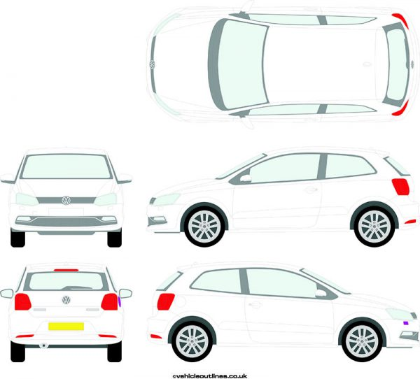 Cars Volkswagen Polo 2014-17