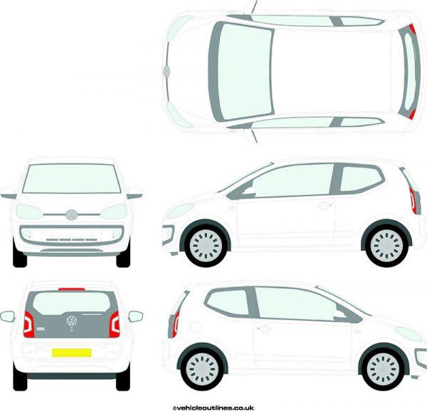 Cars Volkswagen Up! 2012-21