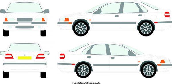 Cars Volvo S40 1996-2000