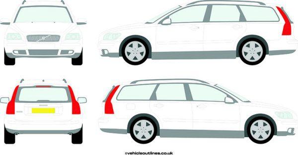 Cars Volvo V50 2004-10