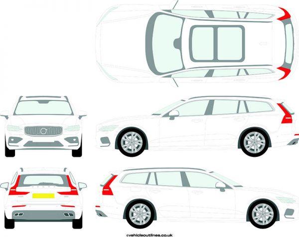 Cars Volvo V60 2019-21