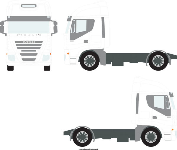 TRACTOR UNITS IVECO Stralis 2007-13