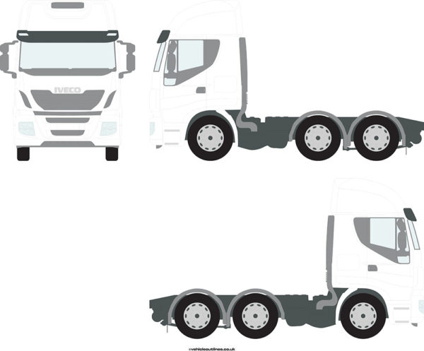 TRACTOR UNITS IVECO Stralis 2013-21
