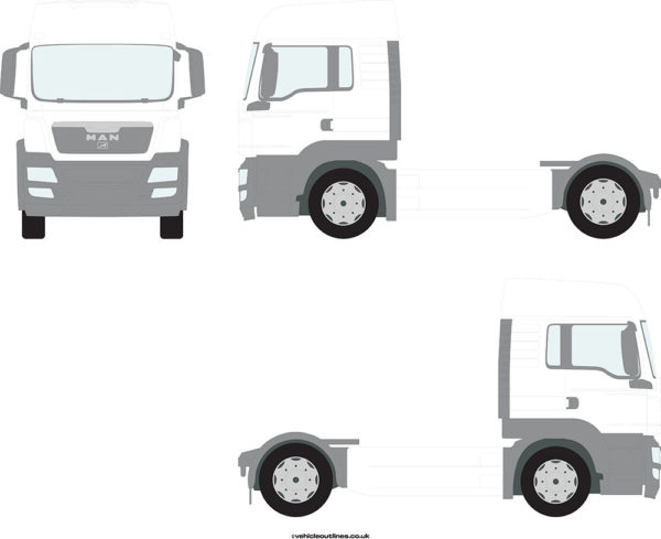 TRACTOR UNITS MAN TGS 2007-13