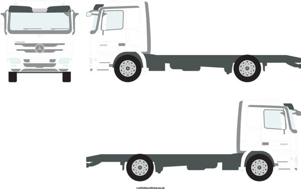 RIGID TRUCKS MERCEDES Actros 2008-11