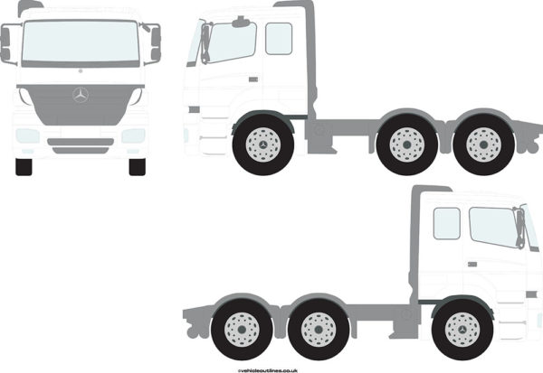 TRACTOR UNITS MERCEDES Actros 2005-07