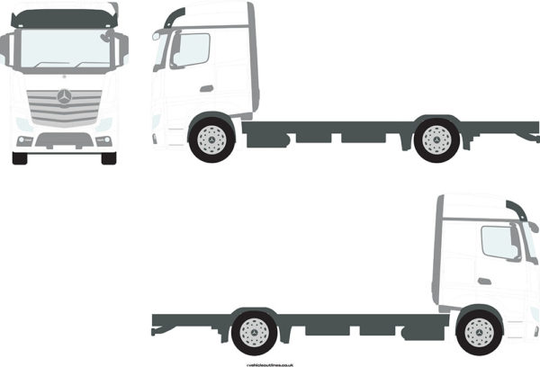 TRACTOR UNITS MERCEDES Actros 2012-20