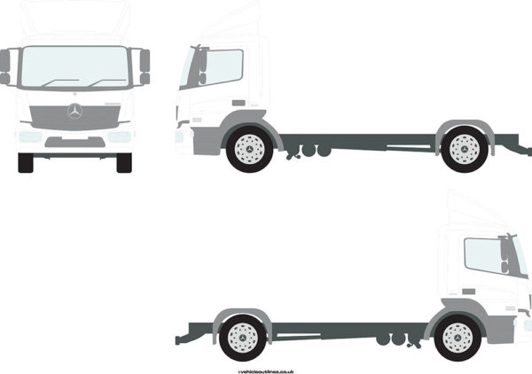 RIGID TRUCKS MERCEDES Atego 2013-21