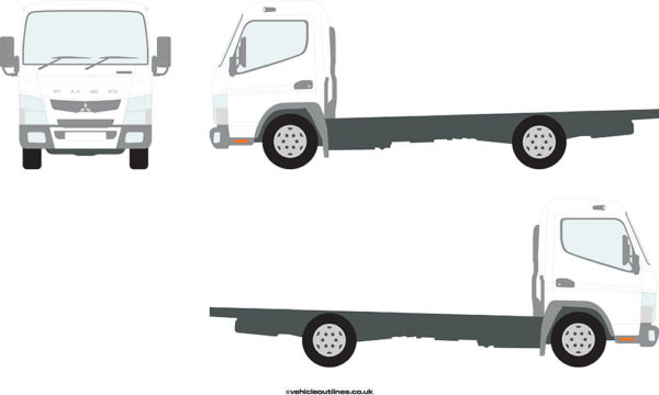 RIGID TRUCKS MITSUBISHI Canter 2012-21