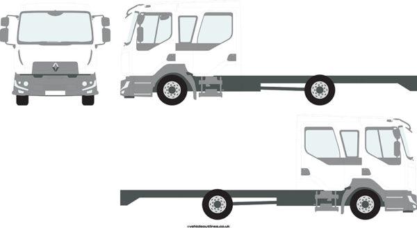 RIGID TRUCKS RENAULT D-Cab 2013-21
